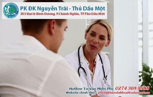 Bác sĩ sẽ hướng dẫn cho bệnh nhân là xét nghiệm