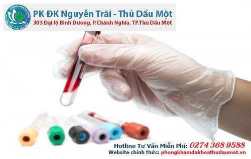 Quy trình xét nghiệm bệnh giang mai tại Đa khoa Thủ Dầu Một