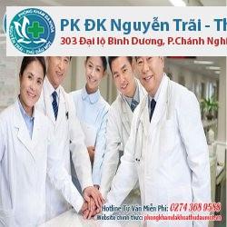 Đội ngũ bác sĩ luôn tận tình thăm khám và giúp đỡ bệnh nhân