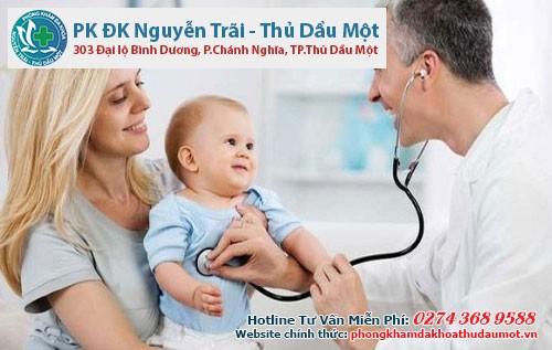 Nên đưa con đi khám và điều trị sùi mào gà ở phòng khám chuyên khoa uy tín