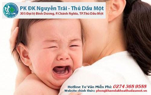 Bệnh sùi mào gà ở trẻ em rất nguy hiểm, đặc biệt là với trẻ sơ sinh sau khi được sinh ra bằng đường âm đạo của người mẹ
