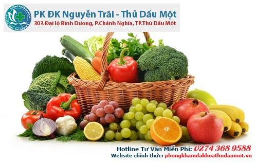 Các loại rau củ quả là thức ăn vô cùng bổ dưỡng