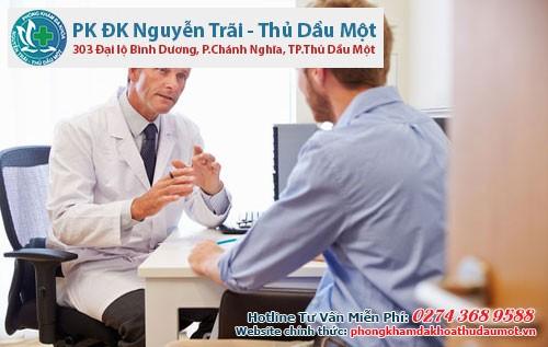 Bác sĩ sẽ là người thăm khám và tư vấn