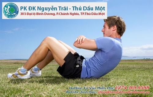 Tập luyện thể dục giúp hỗ trợ điều trị bệnh