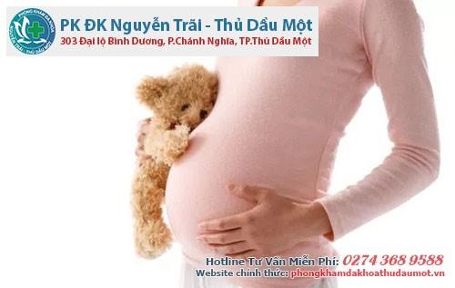 Người mẹ nếu đang mang thai mà nhiễm bệnh
