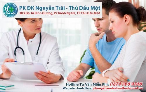 Các bác sĩ ở phòng khám sẽ giúp bạn
