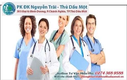 Đội ngũ bác sĩ chuyên khoa tay nghề cao, giàu kinh nghiệm