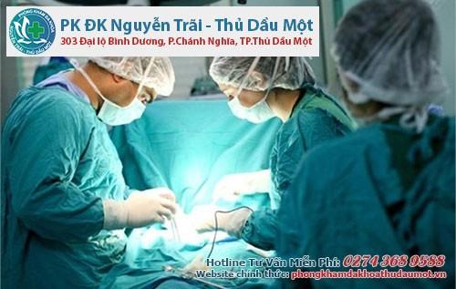 Phòng khám Nguyễn Trãi - Thủ Dầu Một thực hiện cắt bao quy đầu