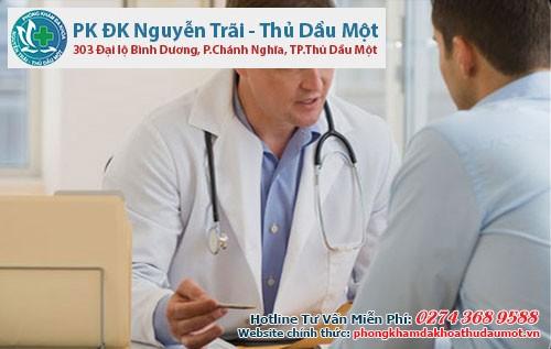 Nam giới nên chủ động thăm khám tại các cơ sở y tế