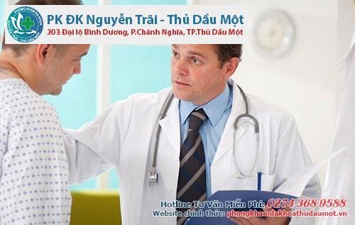 Bác sĩ sẽ chuẩn đoán và tư vấn phương pháp điều trị phù hợp