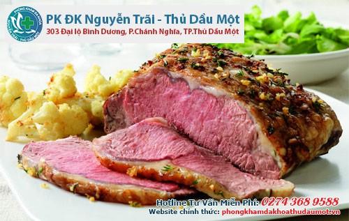 Thịt bò tái cái miệng hại cái thân