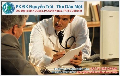 Sớm đến thăm khám và điều trị để giảm bớt các tác hại do bệnh gây ra