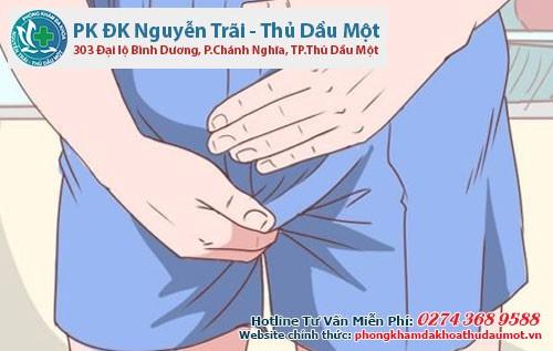 Bị nấm ở bộ phận sinh dục nam sẽ có nhiều triệu chứng