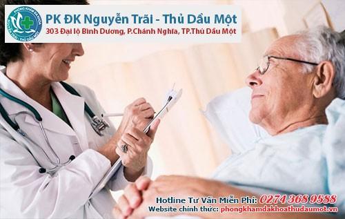 Nam giới lớn tuổi nên thực hiện khám sức khỏe định kì