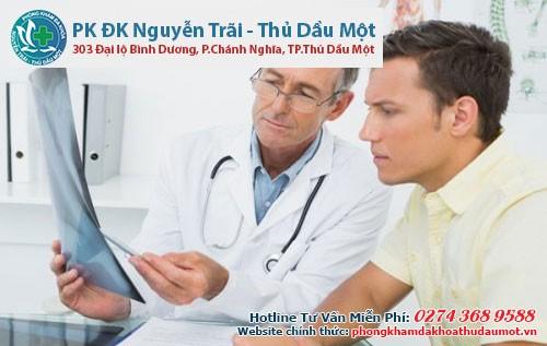 Bác sĩ sẽ chẩn đoán bằng các xét nghiệm cần thiết