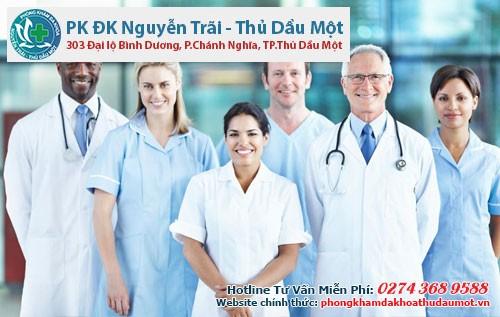 Đội ngũ bác sĩ y khoa được đào tạo chuyên sâu