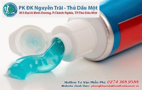 Kem đánh răng cũng có thể giúp duy trì cương dương