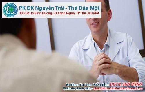 Các bác sĩ sẽ tư vấn cho nam giới biết n