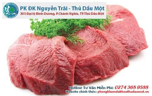 Thịt bò là một trong số những thực phẩm