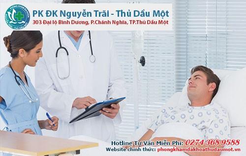 Nam giới nên tìm đến những cơ sở y tế chuyên khoa để được điều trị