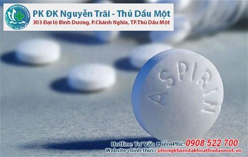 Người dùng thuốc aspirin có thể bị bệnh mề đay cholinergic