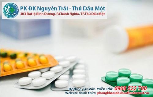 thuốc kháng sinh có thể trị viêm bao quy đầu ở 1 số trường hợp