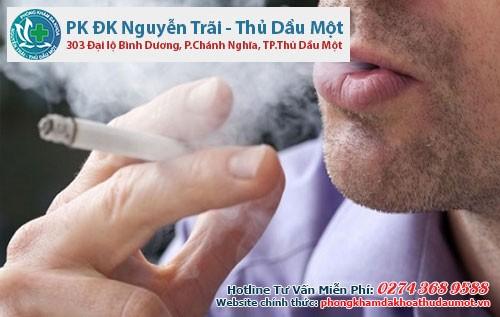 Thuốc lá chính là tác nhân có hại cho sức khỏe