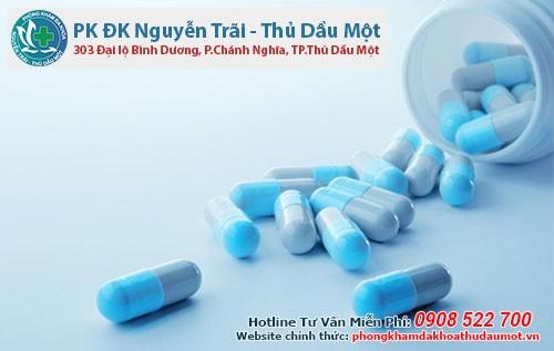 Uống thuốc trị hạt ngọc dương vật