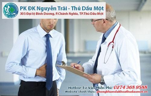 Điều trị u xơ tuyến tiền liệt cần được bác sĩ thăm khám
