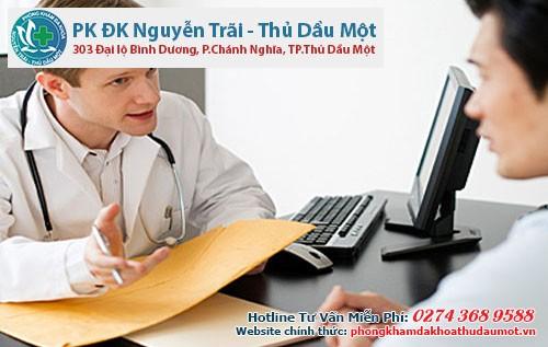 Bác sĩ sẽ giúp bạn điều trị và tư vấn những vấn đề liên quan