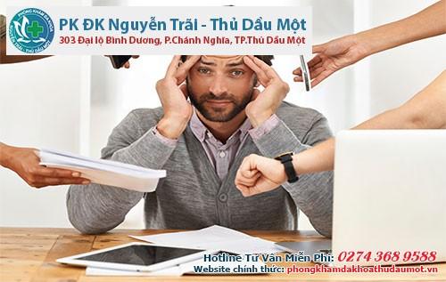 Tác động và áp lực từ công việc dẫn đến stress